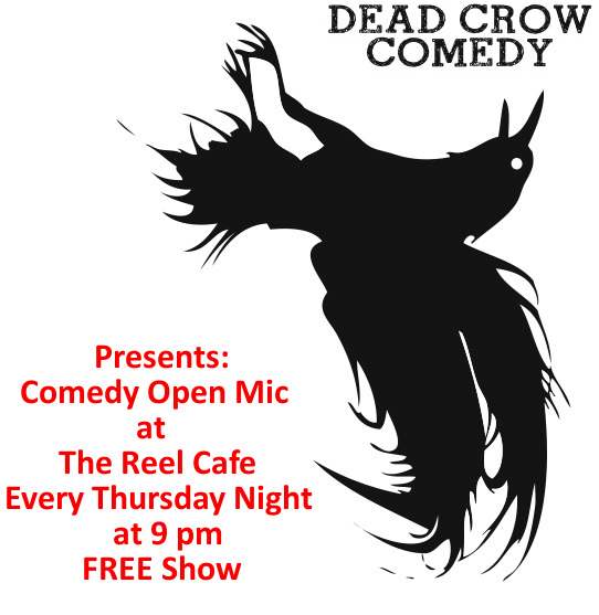 Dead Crow Comedy Open Mic Logo