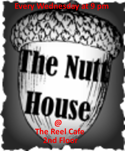 Nutt House Improv Logo Reel Cafe