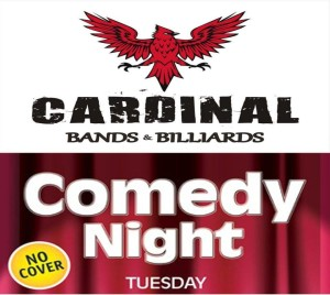 Comedy Open Mic @ Cardinal Bands and Billiards  | Wilmington | North Carolina | United States