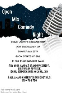 Open Mic Comedy  @ Crazy Jerry's Karaoke Bar | Jacksonville | North Carolina | United States